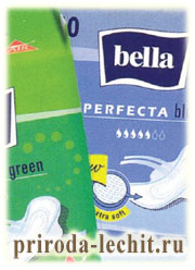 прокладки Bella Perfecta Blue и Bella Perfecta Green
