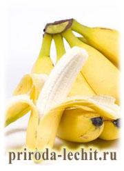 бананы, польза и вред